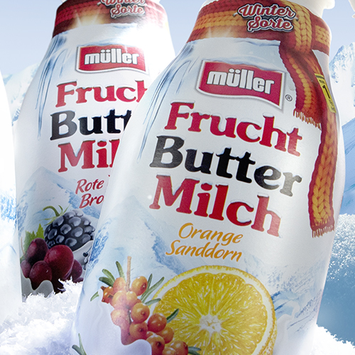 Frucht Buttermilch // Wintersorten